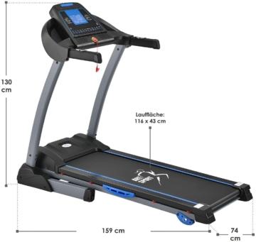 ArtSport Laufband Speedrunner 3500 Maße