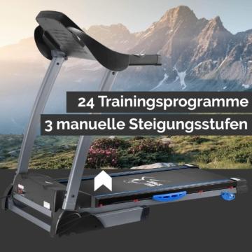 ArtSport Laufband Speedrunner 3500 mit Trainingsprogrammen