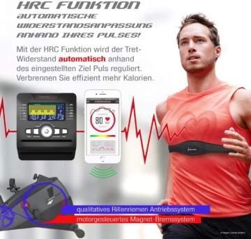 ESX500 Ergometer HRC-Funktion