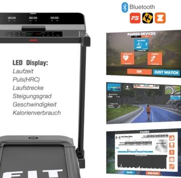 Fitifito FT600 Profi Laufband mit LCD Display
