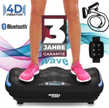 Miweba Sports Fitness 4D Wave Vibrationsplatte MV300
