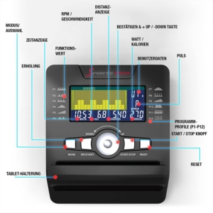 Sportstech ES600 Profi Ergometer 4